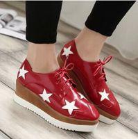 Nuevos 2015 Estilo Europeo diseño de marca de las plataformas ocasionales Zapatos ...