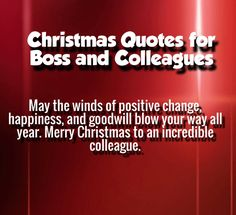 Merry Christmas Wishes For Coworkers – Merry Christmas And Happy New ...