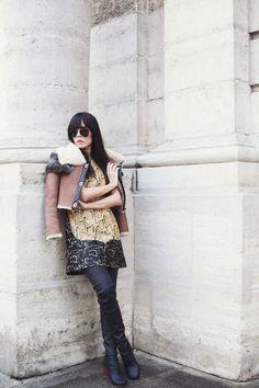 Style Heroine (Evangelie) in Maison Martin Margelia