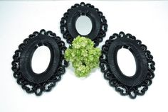 Decorative Wall mirrors upcylcled vintage  3 by GUTTERSNIPES
