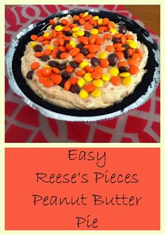 Easy Reese's Peanut Butter Pie Recipe II The Chirping Moms