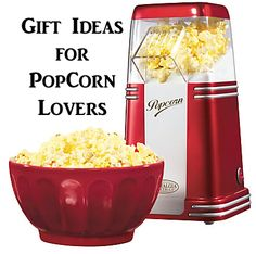 Gift Ideas for #Popcorn Lovers