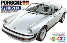 ポルシェ PORSCHE 911 speedster / 自動車のプラスチックモデル / ボックスアート(箱絵)