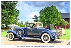 1931 Packard Model 840 Prototype Roadster | The July 26, 201… | Flickr Vintage Cars, Antique Cars, Convertible, Car Museum, Car Photos, Amazing Cars, Classic Cars, Automobile, Vehicles