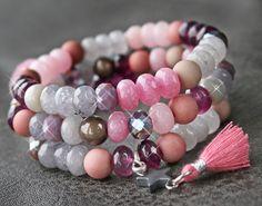 Maak de meest diverse sieraden met deze nieuwe serie kralen! Je kunt zoveel verschillende items en stijlen creëren met nieuwe facet geslepen kralen van natuursteen.