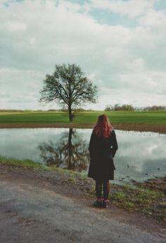 Analog photograph in the beautiful uckermark