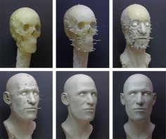 Facial reconstruction using 3D printing. Forensic anthropology!