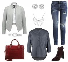#Herbstoutfit Chic fürs Büro ♥ #outfit #Damenoutfit #outfitdestages #dresslove