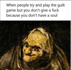 Classical Art Memes - Wtf is guilt?