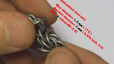 TRIZANTINE CHAINMAILLE WEAVE IN 6 EASY STEPS