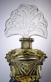 Image result for Czech perfume bottle brass