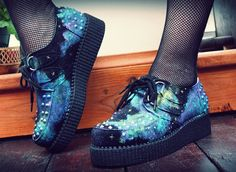 CC - Def had a few pair of creepers. My faves were my black suede ones.
