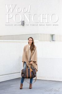 Strictly Style by Hanna Väyrynen Wool Poncho, Kimono Top, Poncho Outfit, Style Blog, Outfits, Clothes, Villa, Tops, Women