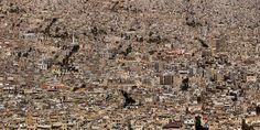 EXODUS I - Damascus, Syria. By British artist and photographer Marcus Lyon.