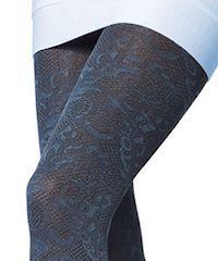 Dark blue pantyhose