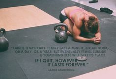 CrossFit Like the quote, just not quoted person.