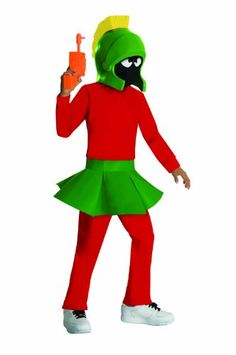 This kids Marvin the martian costume is a licensed looney tunes costume idea for boys. Become Marvin the martian with this cartoon alien costume. Costumes Alien, Costume Garçon, Space Costumes, Clever Halloween Costumes, Mouse Costume, Fancy Costumes, Boy Costumes, Halloween Cosplay, Costume Ideas