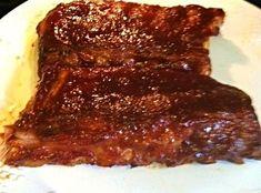 Nor's  Fall off the Bone Baby Back Ribs and sauce #ribs #barbecue-sauce #pork #Barbecue ribs #Baby Back Ribs #justapinchrecipes