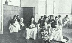 - Amas de cria de la Inclusa , Madrid , 1903 ./tcc/