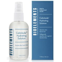 Bioelements Calmitude Hydrating Solution, 4 oz - Instant dehydrating relieve for sensitive skin. A biologically-advanced blend of natural extracts work to soothe, nourish and hydrate sensitive and easily irritated skin types.