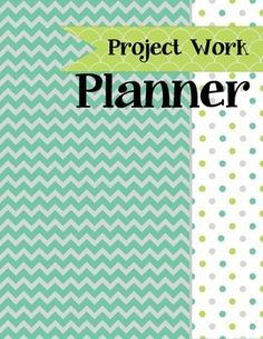 Project Approach Teacher Planner and Organizer - webs, lists, notes, field experience logs, documentation templates - everything in one place!