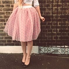 Strut your stuff in style with this must-make party season skirt! (via By Hand London)