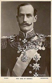 Haakon VII: First King of Norway, elected to the throne and a key figure in resistance to Nazi occupation