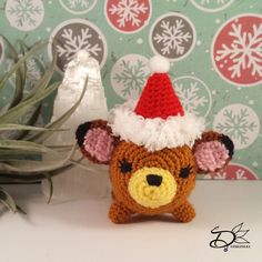 The last day of the Christmas Countdown! It's a wrap! Let's make a Bambi Tsum Tsum Amigurumi last with this free pattern.