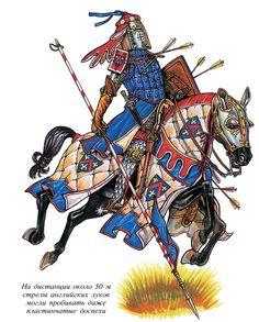 рыцарь Knight on horse  War field  1200-1300 13th century Greqr helm  Brugandine armor