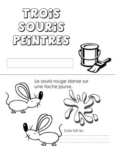 French Learning Videos For Beginners Learn French Verbs Fun French Tenses, French Verbs, Core French, French Class, Mixing Primary Colors, French Adjectives, Teaching Colors, Class Library, French Resources