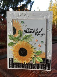 Megumi's Stampin Retreat, Stampin' Up! 2017 Holiday Catalog, Stampin' Up! Painted Harvest Stamp Set, Stampin' Up! Leaf Punch, Stampin' Up! Layered Leaves Dynamic Embossing Folder, Stampin' Up! Painted Autumn DSP