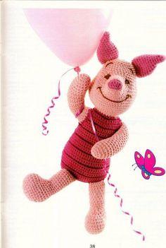 Pooh & friends crochet patterns winnie the pooh eeyore