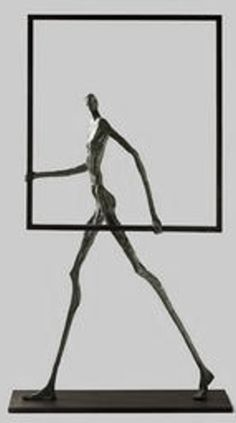 Newest Cost-Free Clay sculpture geometric Suggestions Sculpture Metal, Modern Sculpture, Geometric Sculpture, Stylo 3d, Alberto Giacometti, Plastic Art, Wire Art, Installation Art, Metal Art