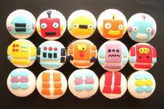 Cupcake robo