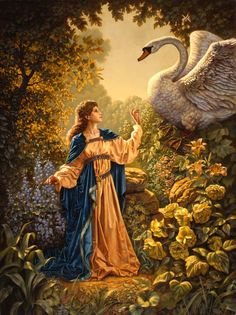 Leda and the Swan by David jermann
