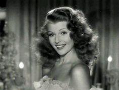 Rita Hayworth's iconic finger waves