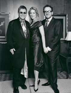 Elton John, Diana Krall & Elvis Costello