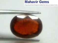 Natural Gometh 10.02 Ct : Mahavir Gems  Excellent quality  A beautiful genuine natural unheated, untreated gem for astrological purposes.