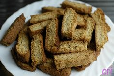Cantuccini di mais al papavero – Ricette Vegan – Vegane – Cruelty Free