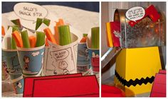 A birthday party inspired by Charlie Brown and the Peanuts Gang Birthday Party Ideas | Photo 3 of 21 | Catch My Party
