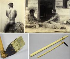 Traditional Samoan tattoo . Apia, Western Samoa; #tattoocare #molotattoocare