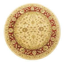 Ziegler 7709 Cream Red Round Circular machine-made rugs made with Polypropylene. Available today as part of our price-match promise. Neutral Colors, Colours, Circular Rugs, Oriental Style, Machine Made Rugs, New Living Room, Rug Making, Wool Rug, Decorative Plates