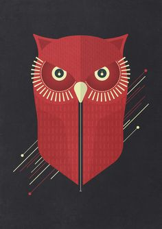 Poster   OWL von Tracie Andrews   more posters at http://moreposter.de
