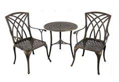 Hot sell outdoor furniture-3pc set cast aluminum bistro set HL-3S-12006  http://www.alibaba.com/product-detail/Hot-sell-outdoor-furniture-3pc-set_1576178700.html?spm=a2700.7724838.30.1.a7XRMR