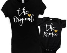 Mommy and Me Matching Outfit, Matching Mother Daughter Outfit, MomLife Shirt, Mama and Little Mama, Matching Mommy Daughter Shirts Mother Daughter Matching Outfits, Mommy And Me Outfits, Mama Shirt, T Shirt, Body Suit With Shorts, Matching Shirts, Shirts With Sayings, Colorful Shirts, Shirt Designs