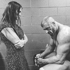 Stephanie McMahon and Triple H.