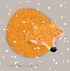 Furry fox Gina Maldonado ©