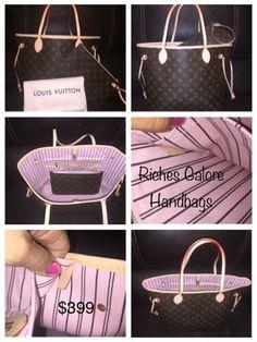 Monogram Neverfull MM Rose Ballerine $399.00   lareyna2341@icloud.com Louis Vuitton Damier, Monogram, Rose, Pattern, Bags, Handbags, Pink, Patterns, Monograms