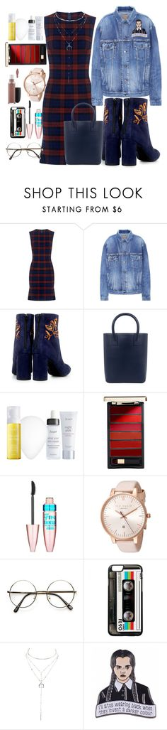 """""""Untitled #17"""" by justbrokeaf ❤ liked on Polyvore featuring 10 Crosby Derek Lam, Balenciaga, Eugenia Kim, Mother of Pearl, Julep, L'Oréal Paris, MAC Cosmetics, Maybelline, Ted Baker and Charlotte Russe"""