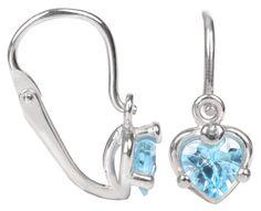 Brilio Cercei de aur pentru copii cu zirconiu cubic 236 001 00 990 07 Aur, Jewelries, Bracelets, Earrings, Silver, Fragrance, Ear Rings, Stud Earrings, Ear Piercings